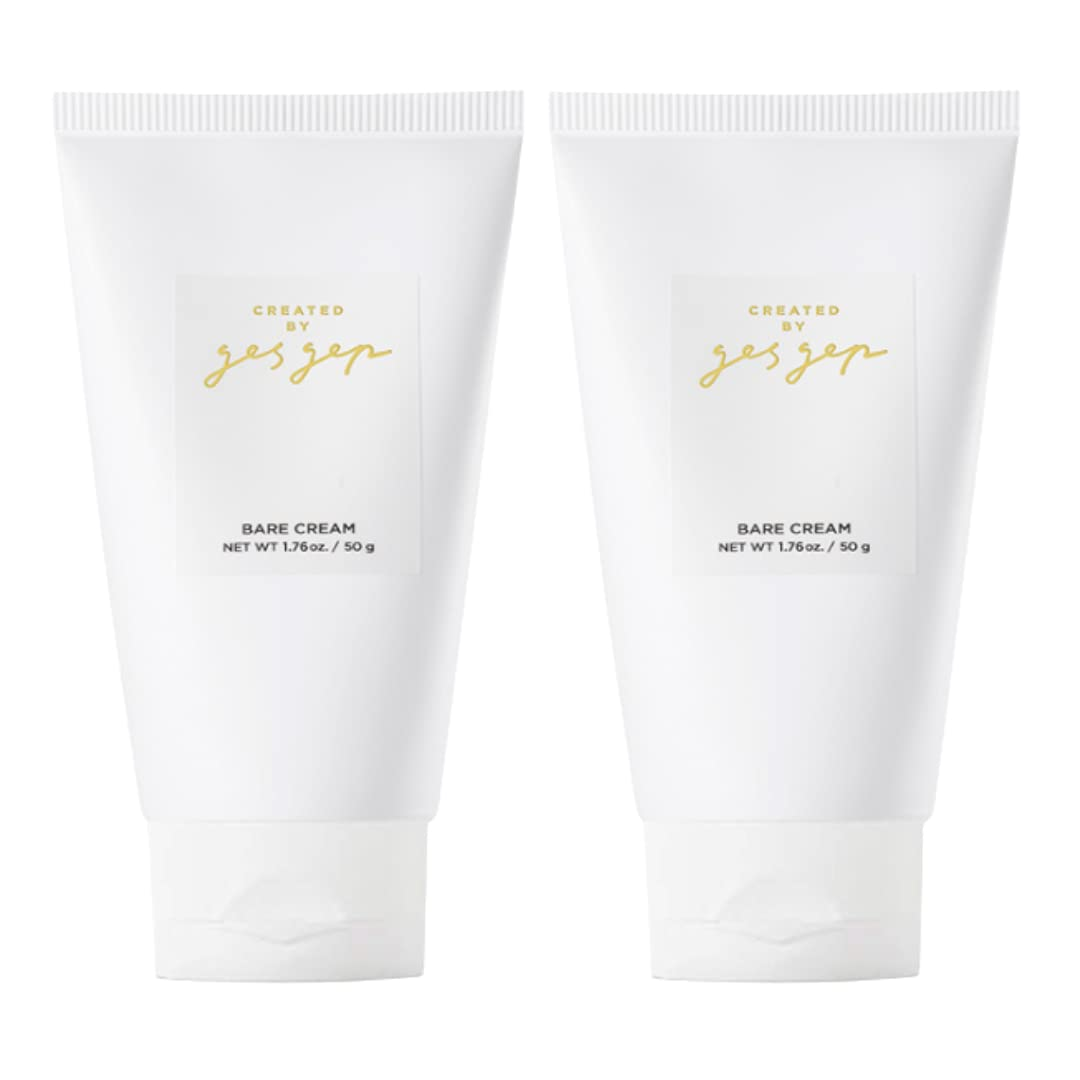 High quality new gesgep bare cream 50g X 2 set Moisturizer Hydrate Baltimore Mall Soo to Face -