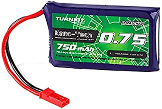 Turnigy Nano-Tech Plus 750mAh 1S 70C Lipo Pack (JST+Walker)