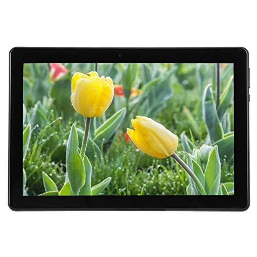 Tableta Del Teléfono 3G / 4G 10In, Tableta LCD IPS Tarjetas SIM Dobles, ROM de 2GB RAM 32GB para Android 9.0, Capacidad de La Batería de 5000 mAh, Cámara Dual de 2MP + 5MP(EU)