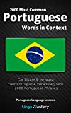 2000 Most Common Portuguese Words in Context: Get Fluent & Increase Your...