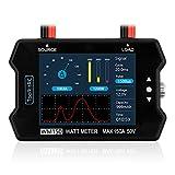 ToolkitRC WM150 Watt Meter Power Analyzer 150A 50V LCD Display High Precision Digital Current...
