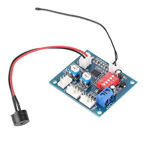 Guoshiy Gobernador de Ventilador de PC, Control automático de Temperatura DC 12V Controlador de Velocidad del Ventilador, Controlador de Ventilador Pwm de 4 Cables Ventilador de CPU para
