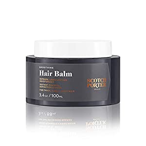 Scotch Porter Smoothing Hair Balm for Men — Soft, Natural Hold Hair Moisturizer for Coarse & Textured Hair (3.4 oz) 11