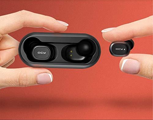 Fone de Ouvido sem Fio, QCY T1C QS1 Bluetooth 5.0