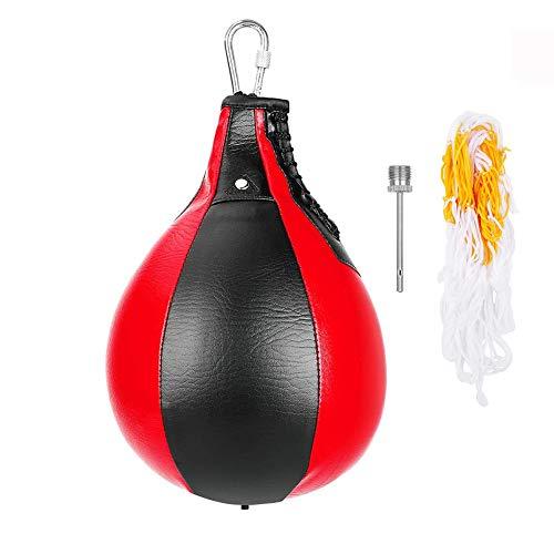 Boxing Speed Ball Boxing Bag,boxe da appendere in pelle PU,Palla velocità Allenamento Palla sfiato Palla per Allenamento Fitness agilità Allenamento Esercizio