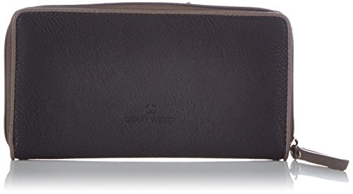 Gerry Weber Damen Free Mind Ladies Purse L Geldbörsen, Schwarz (black 900), 19x11x2 cm