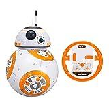 BSTQC Robot, robots inteligentes, robots, bola de robots, control remoto, robot con sonidos de película para niños y niñas, regalo de cumpleaños
