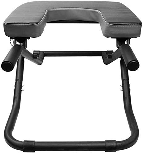 WWJ Yoga Inversion Bänk U-formad pall, Huvudstativ Bänkstativ Yogastol för familj, Fitness...