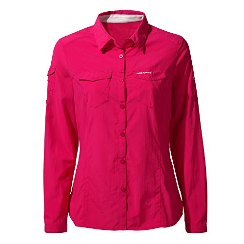 Craghoppers - Chemise Manches Longues Adventure - Femme (36 FR) (Rose)