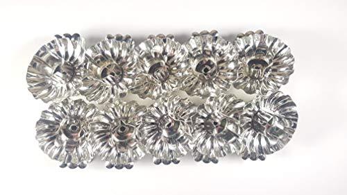 10 Stück Metall Silber Klemmen Clip Baumkerzenhalter Weihnachtsbaum Kerzenhalter