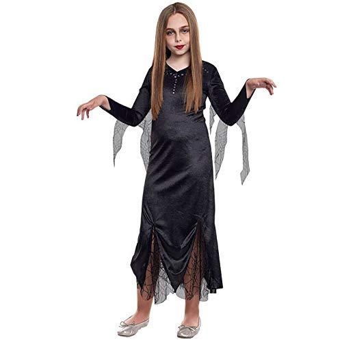 Disfraz Morticia Lady Niña (5-6 años) Halloween (+ Tallas)