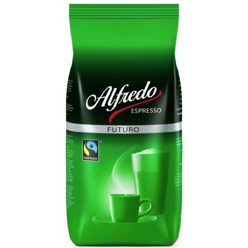 Darboven Alfredo Espresso Futuro - 6 x 1kg ganze Bohne Fairtrade
