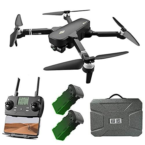 DCLINA Drone GPS con Fotocamera UHD 6K e stabilizzatore cardanico a 2 Assi, quadricottero RC Video in Diretta FPV WiFi 5GHz, Motore brushless, Distanza RC 2000M, Tempo Volo 28 Minuti