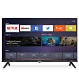 Caixun EC32S2N, 2020 LED HD Smart TV de 32 Pulgadas, WiFi, Netflix, Prime Video,Youtube, Facebook, HD Television, Sintonizador Triple, HDMI [Clase de eficiencia energética A+]
