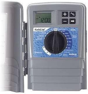 Irritrol Kwik Dial 4 Station Indoor Irrigation Controller