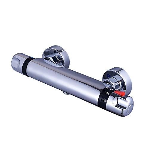Valvola miscelatrice termostatica G1 '' Automatic Sensor Rubinetto termostatico e calda Acqua calda e acqua calda Valvola di controllo della temperatura Acqua fredda o acqua calda Regola Tempcontrol T