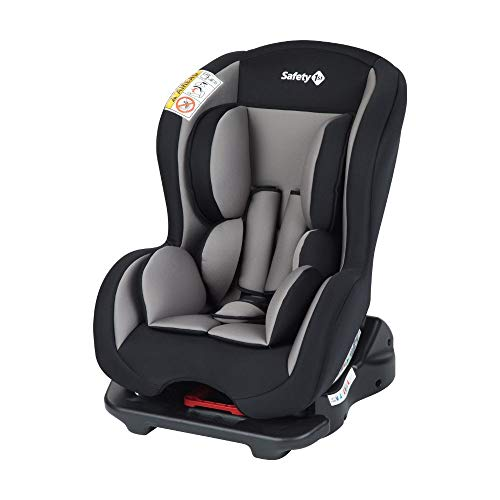 Safety 1st Sweet Safe Seggiolino Auto 0-18 kg, Reclinabile, Gruppo 0 +/1, per Neonati e Bambini fino ai 3.5 Anni, Grigio (Hot Grey)