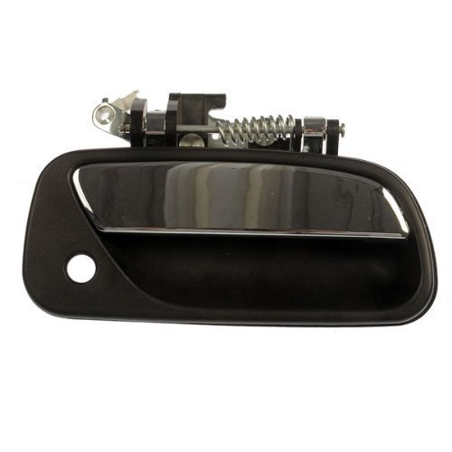 Aftermarket Auto Parts for T100 93-98 Textured Black Front Outer Door Handle with Keyhole Right