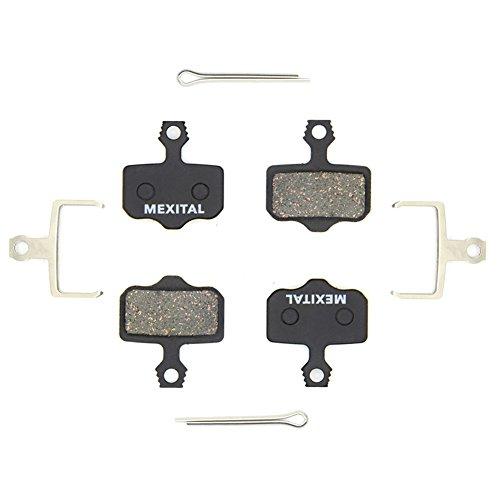 MEXITAL 2 Pares Pastillas Freno Disco para SRAM avid Elixir E1 E3 E5 E7 E9 DB1 DB3 DB5 XO XX