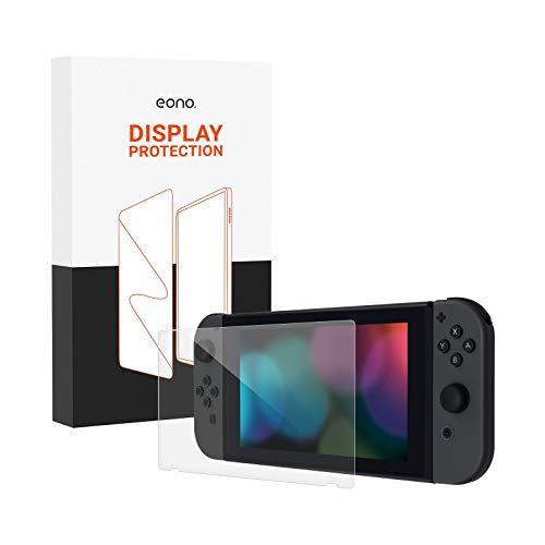 Eono Cristal blindado compatible con Nintendo Switch Lite. Cristal protector HD contra...