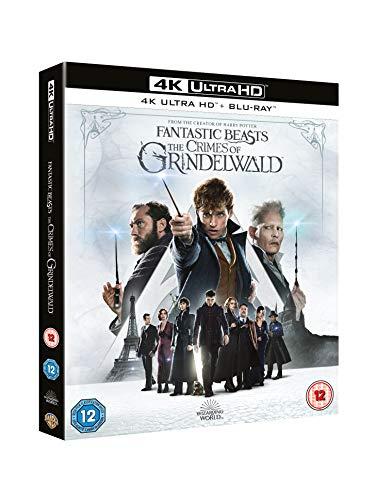 Fantastic Beasts The Crimes of Grindelwald [4K Ultra HD] [2018] [Blu-ray]