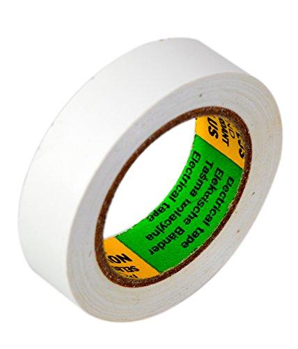 Isolierband Reparaturband in Weiß, Länge 10 m, Breite 15mm, 1 Rolle, universell für den Elektrobereich, erfüllt VDE, ÖVE & SEV