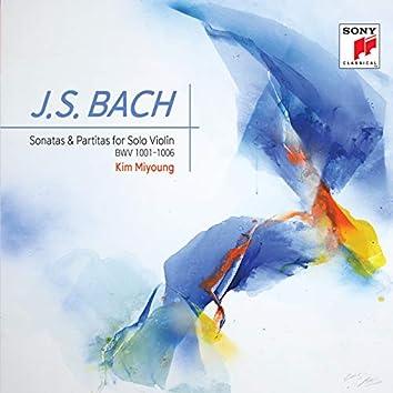 J.S. Bach Sonatas and Partitas for Violin Solo BWV 1001-1006, Violinist Kim Miyoung