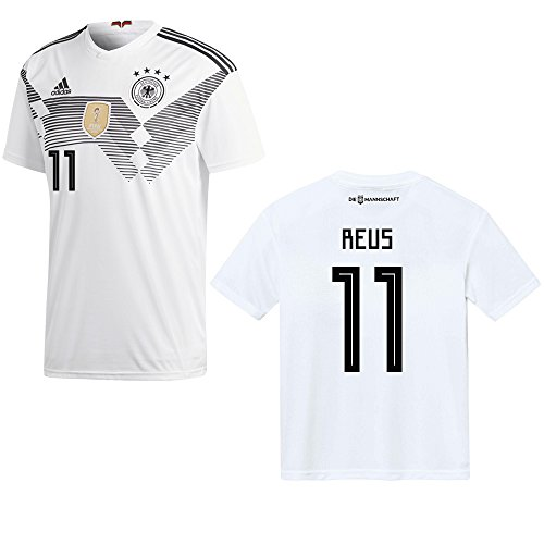 Adidas, Maglietta da calcio, nazionale tedesca 2018, giocatore Reus, numero 11, modello da uomo, M