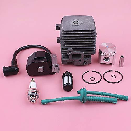 34 mm zuigerset bougie voor Stihl FS55 FS45 FS38 lijn brandstoffilter bougie grasmaaier gereedschap onderdelen