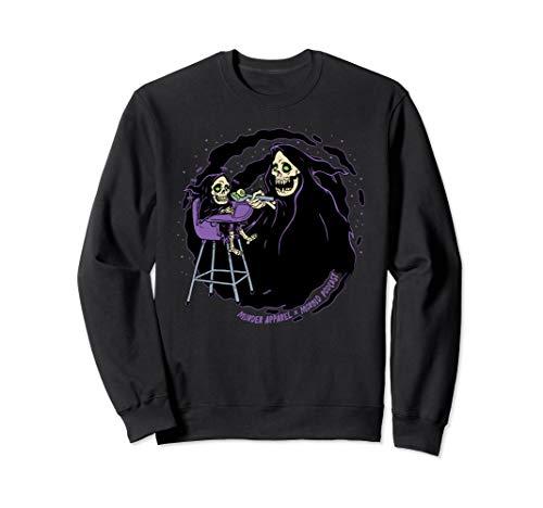 Pastel Goth Baby Grim Reaper Death Sweatshirt
