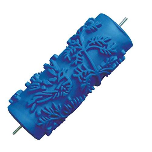 7 '' DIY Geprägte Malerrolle Strukturwalze Malerwalze mit Muster, Muster Auswählbar - 002y