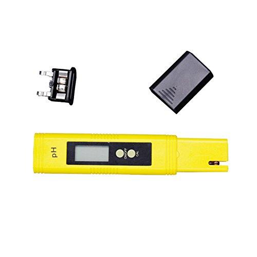 Accessotech Digital PH Eau Compteur Testeur pour Aquarium Piscine Spa Vin Hydroponie testeur