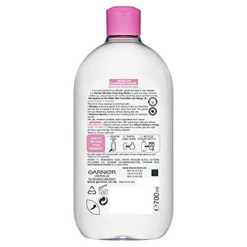 Garnier SkinActive Micellar Cleansing Water, 700ml