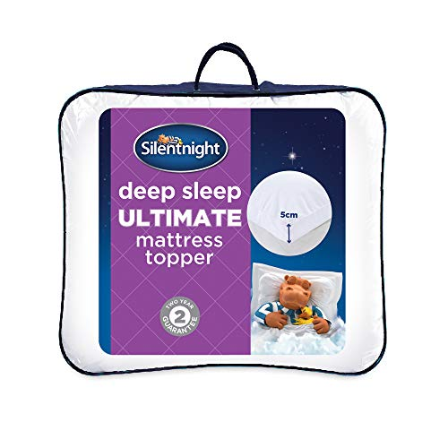 Silentnight Ultimate Deep Sleep Topper, White, Single