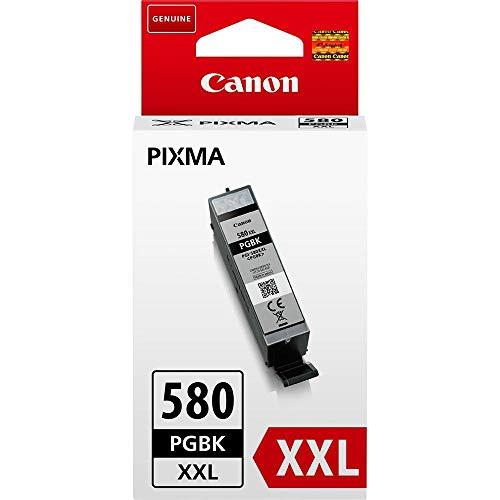 Canon PGI-580 XXL PGBK Druckertinte - Pigment Schwarz 25,7 ml für PIXMA Tintenstrahldrucker ORIGINAL