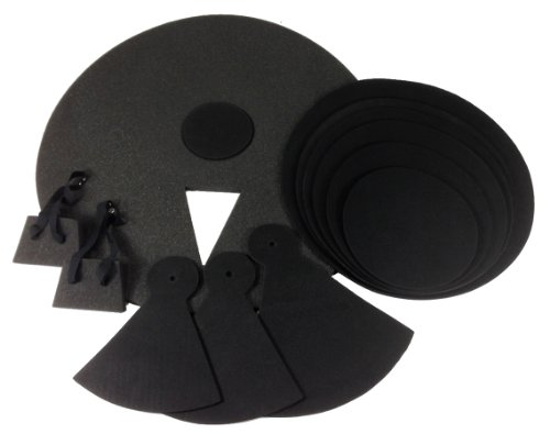 3. 12 Piece Drum Practice Pads