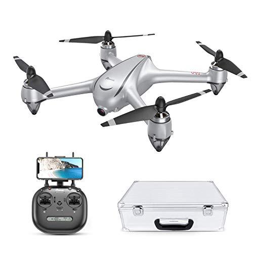 Potensic D80 Drone Kit avec Caméra 2K HD GPS 5G-Wifi FPV Moteur non-brossé Mode Suivez-moi Valise...