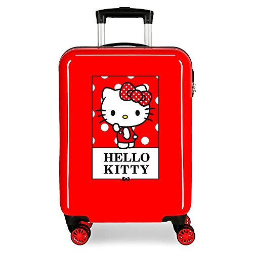 Valise Cabine Bow of Hello Kitty Rigide 55 cm