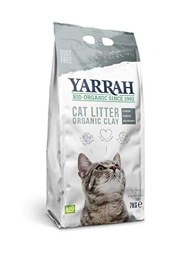 Yarrah Litière biologique pour chat 7 kg