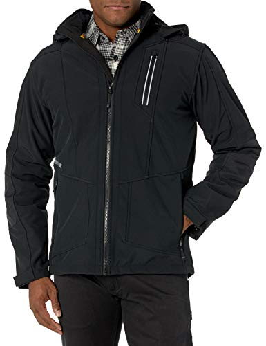 Caterpillar Men's Triton Soft Shell Jacket, Black, S
