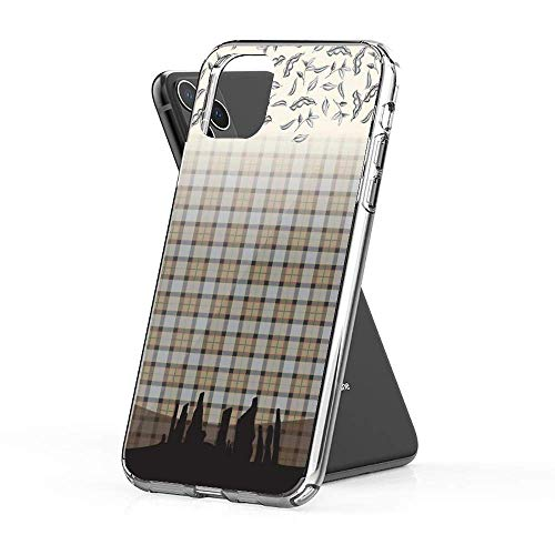 Leftwe Phone Cases Pure Clear AntiGraffio iPhone 6/6s Case Cover Outlander Craigh Na Dun