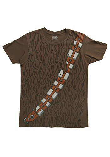 Star Wars I Am Chewy Chewbacca Halloween Costume TShirt - Brown