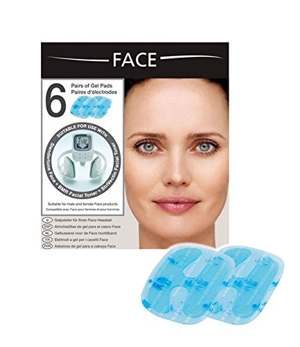 Slendertone Women's Face Replacement Pads (Pack of 6)