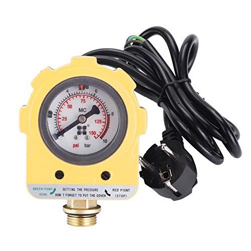 Manómetro regulador de presión de bomba automática 10 Bar