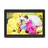 Haehne 7' Tablet PC, Google Android Tablet, Quad Core A33, Cámaras Duales, WiFi, Bluetooth, Negro