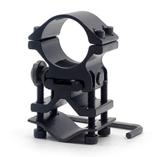Trirock Universal-Zielfernrohr-Ringe mit Hohem Profil, 30 mm, 25 mm, 2,5 cm Ringadapter & 20 mm Picatinny Weaver Schienenbefestigung für Taschenlampe und Laser-Taschenlampe
