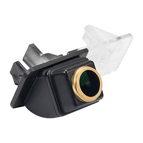 HD Goldene Rückfahrkamera 1280 * 720 Pixel 1000TV Linien Kamera für MB Mercedes Smart R300/R350/Fortwo Smart ED/Smart 451 07-14,Wasserdicht Nachtsicht Einparkhilfe Rueckfahrkamera