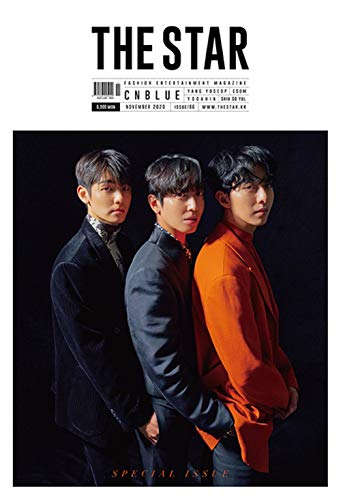 Highlight ヤンヨソプ/THE STAR(ザ・スター)11月号2020年【5点構成】/韓国雑誌/KPOP/韓国歌手/k-pop/表紙:CNBLUE,ユアイン