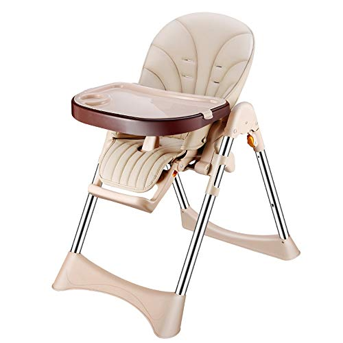 Best Bargain ZXH Highchairs Mama Highchair Multi-Function Recline Highchair with Removable Tray 5-Po...