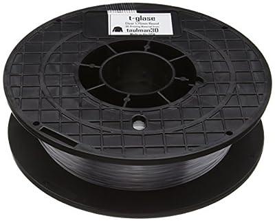 3D Prima 10097 Taulman T-Glase Filament, PETT, 1.75 mm, Clear